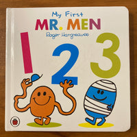 Hargreaves, Roger - My First Mr Men 123 (Board Book)
