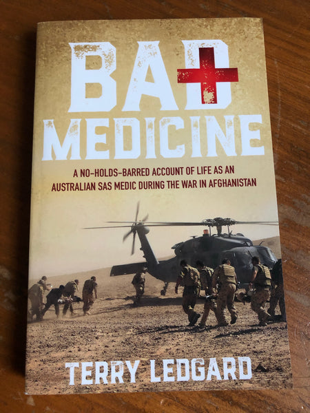 Ledgard, Terry - Bad Medicine (Trade Paperback)