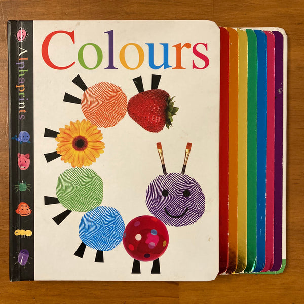 Alphaprints - Colours (Board Book)