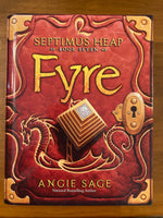 Sage, Angie - Septimus Heap 07 Fyre (Hardcover)