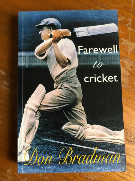 Bradman, Don - Farewell to Cricket (Paperback)