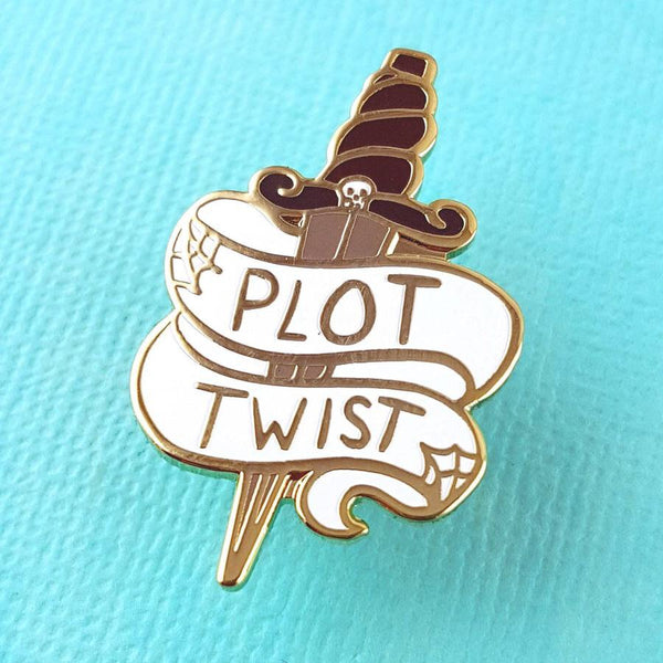 Jubly Umph Lapel Pin - Plot Twist
