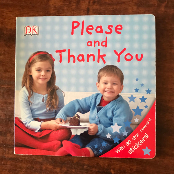 DK - Please and Thank You (Board Book)