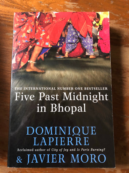 Lapierre, Dominique - Five Past Midnight in Bhopal (Trade Paperback)