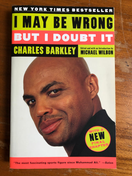 Barkley, Charles - I May Be Wrong But I Doubt It (Paperback)