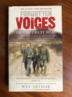 Arthur, Max - Forgotten Voices of the Great War (Paperback)