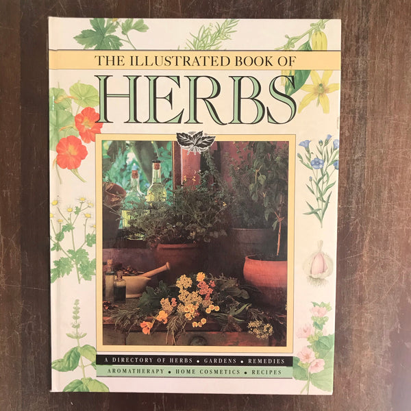 New Holland - Illustrated Book of Herbs (Hardcover)