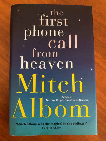 Albom, Mitch - First Phone Call From Heaven (Hardcover)
