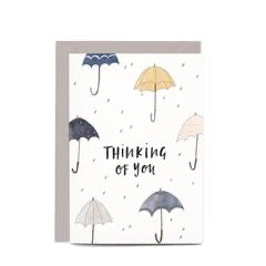In the Daylight Greeting Card - Thinking of You Umbrella