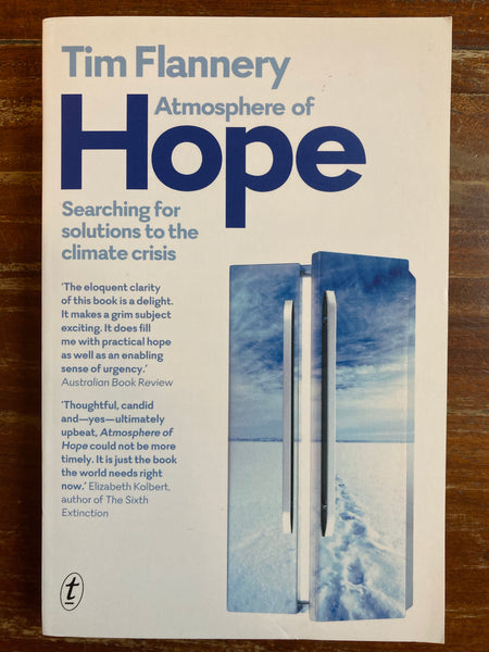 Flannery, Tim - Atmosphere of Hope (Paperback)