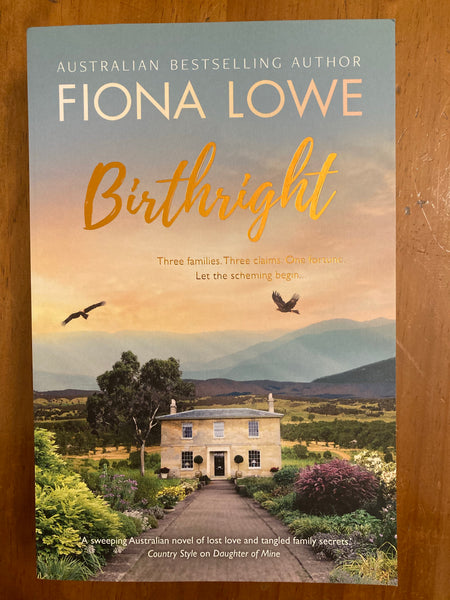 Lowe, Fiona - Birthright (Trade Paperback)