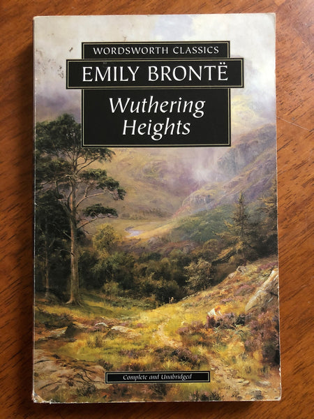 Bronte, Emily - Wuthering Heights (Wordswoth Paperback)