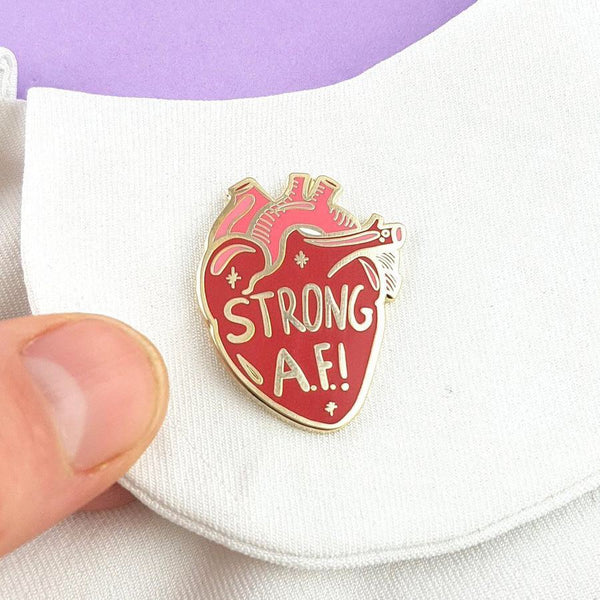 Jubly Umph Lapel Pin - Strong AF