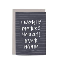 In the Daylight Greeting Card - Marry You Again