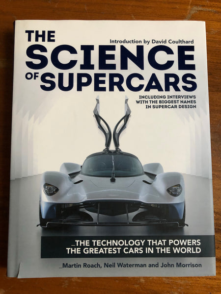 Coulthard, David - Science of Supercars (Hardcover)
