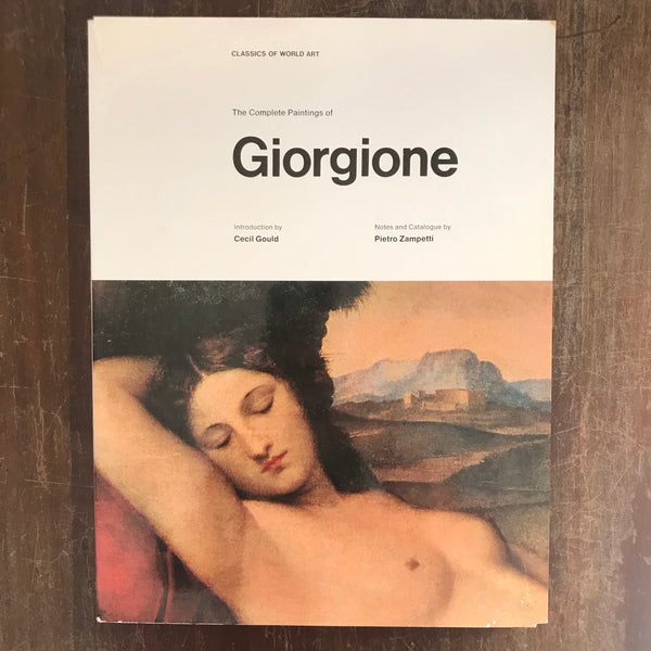 Complete Paintings Of  - Giorgione (Hardcover)