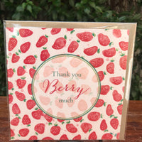 Design Junkie - Thank You Berry Much