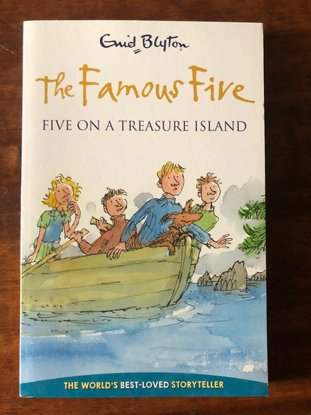 Blyton, Enid - classic Collection - Famous Five on a Treasure Island (Paperback)