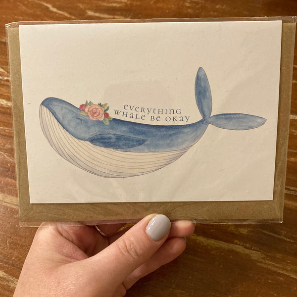 The Curious Cactus - Everything Whale Be Okay