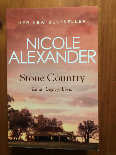 Alexander, Nicole - Stone Country (Trade Paperback)