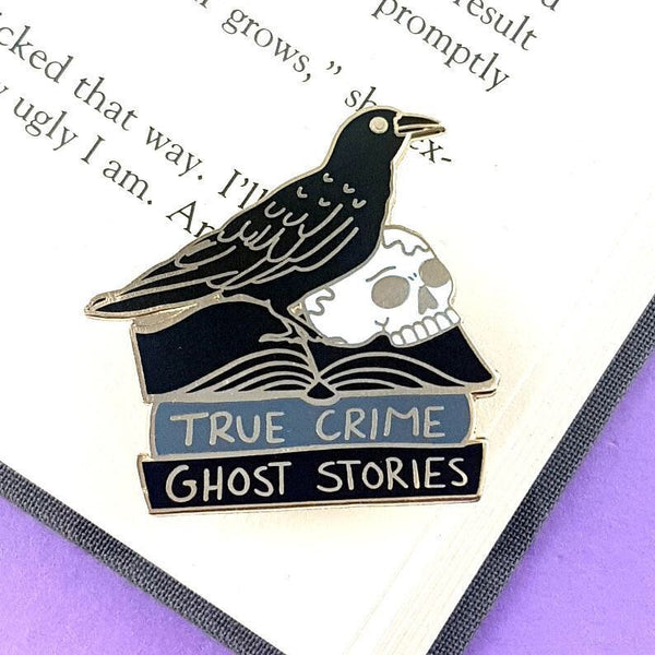 Jubly Umph Lapel Pin - The Black Raven Reader