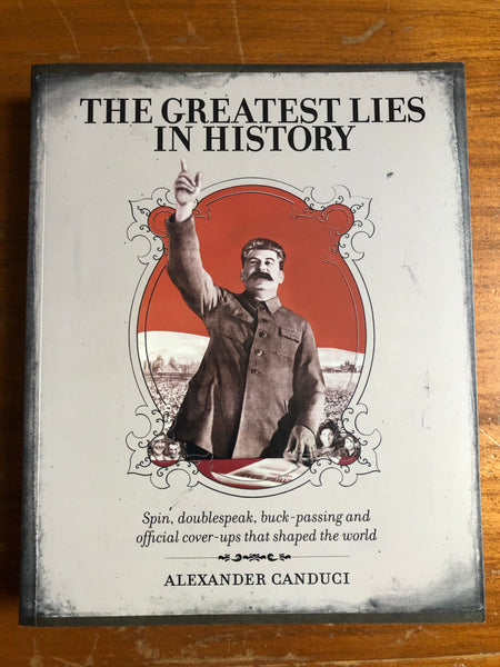 Canduci, Alexander - Greatest Lies in History (Paperback)