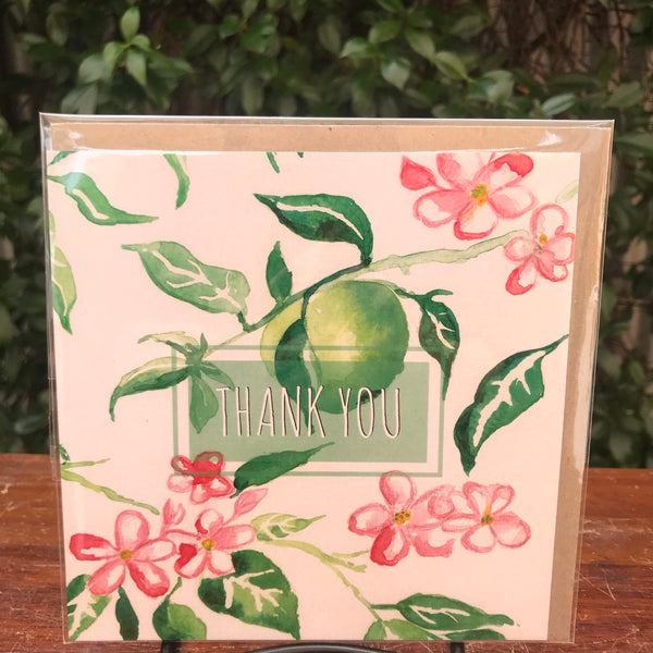 Design Junkie - Apple Tree Thank You