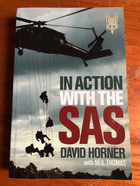 Horner, David - In Action with the SAS (Trade Paperback)