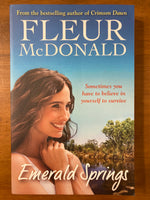McDonald, Fleur - Emerald Springs (Trade Paperback)
