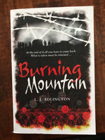 Adlington, LJ - Burning Mountain (Paperback)