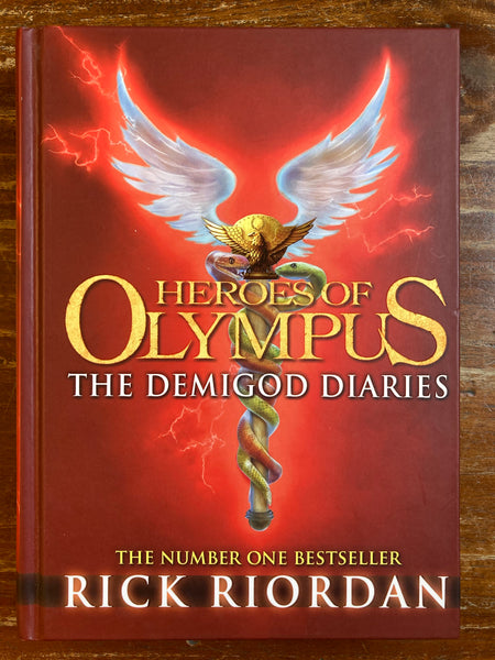 Riordan, Rick - Heroes of Olympus The Demigod Diaries (Hardcover)
