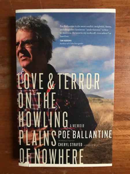 Ballantine, Poe - Love and Terror on the Howling Plains of Nowhere (Trade Paperback)