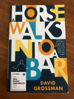 Grossman, David - Horse Walks Into a Bar (Paperback)