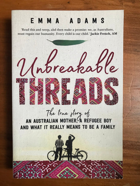 Adams, Emma - Unbreakable Threads (Trade Paperback)