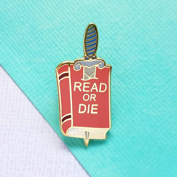 Jubly Umph Lapel Pin - Read or Die