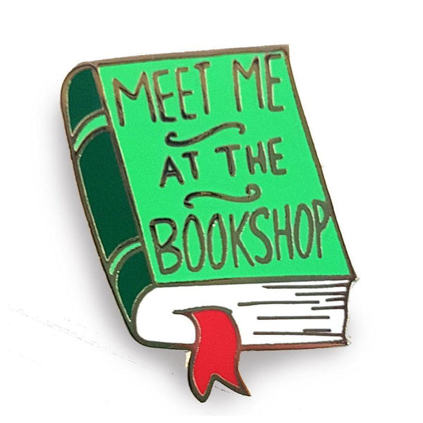 Jubly Umph Lapel Pin - Meet Me at the Bookshop