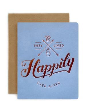 Bespoke Letterpress - Happily Ever After
