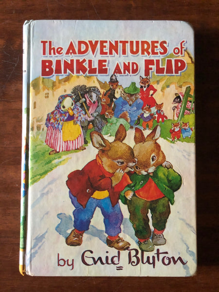 Blyton, Enid - Adventures of Binkle and Flip (Hardcover)