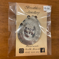 Breathless Jewellery Keyring - Dads Taxi 03