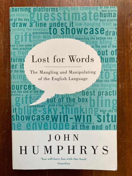 Humphrys, John - Lost for Words (Paperback)