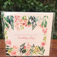 Design Junkie - Floral Congratulations on Your Wedding Day