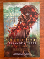 Clare, Cassandra - Last Hours 01 Chain of Gold (Trade Paperback)