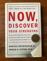 Buckingham, Marcus - Now Discover Your Strengths (Hardcover)