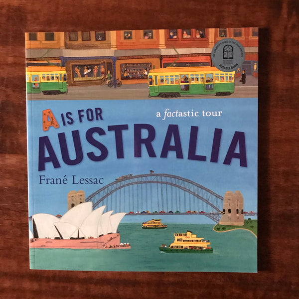 Lessac, Frane - A is for Australia (Paperback)