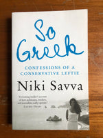 Savva, Niki - So Greek (Trade Paperback)