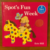 Hill, Eric - Spot's Fun Week (Hardcover)