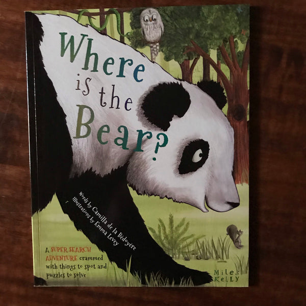De La Bedoyere, Camilla - Where is the Bear (Paperback)
