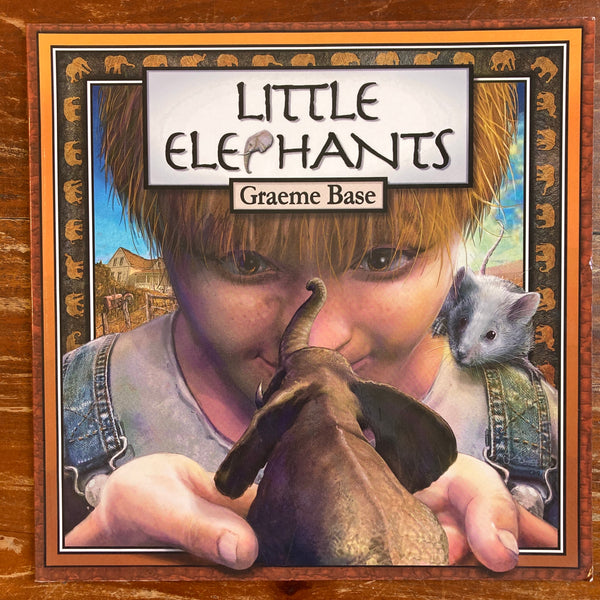 Base, Graeme - Little Elephants (Paperback)