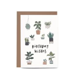 In the Daylight Greeting Card - Birthday Potted Plants