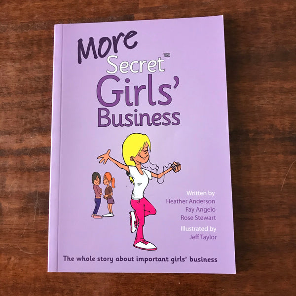 Anderson, Heather - More Secret Girls Business (Paperback)
